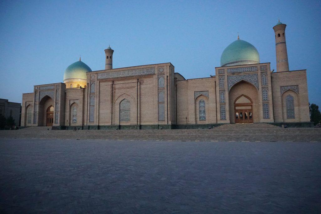hazrati imam mosque tachkent racism travel