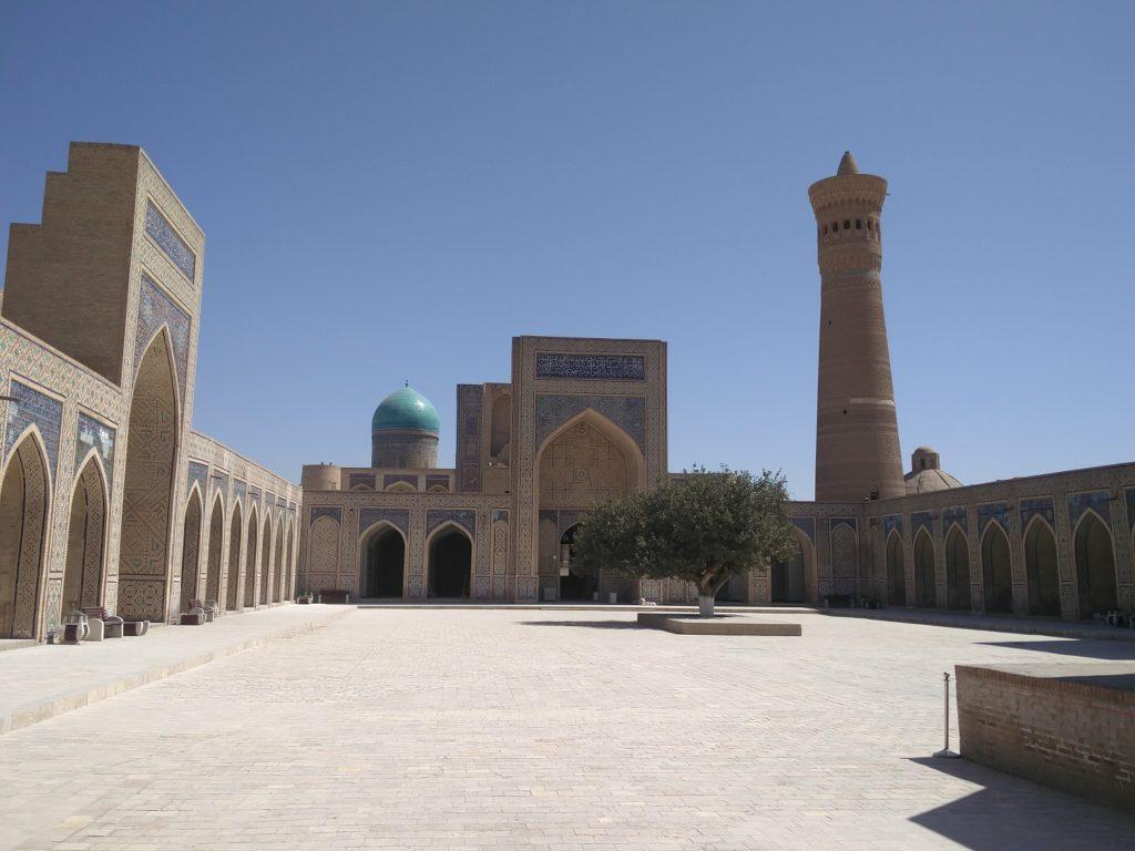 kalan mosque bukhara