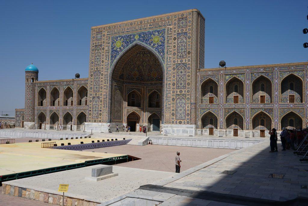 madrasah tilya kori samarkand