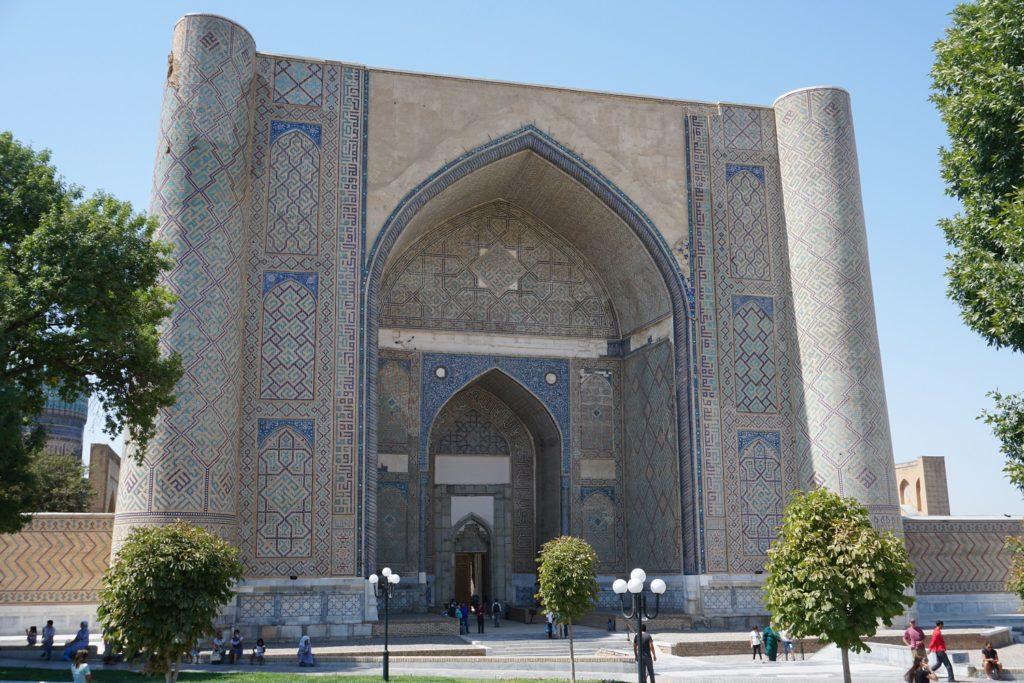 mosquee bibi khanym samarcande