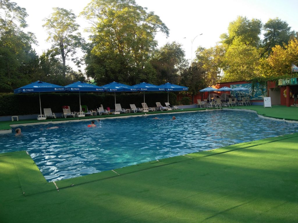 piscine hotel ak altyn turkmenistan asie centrale