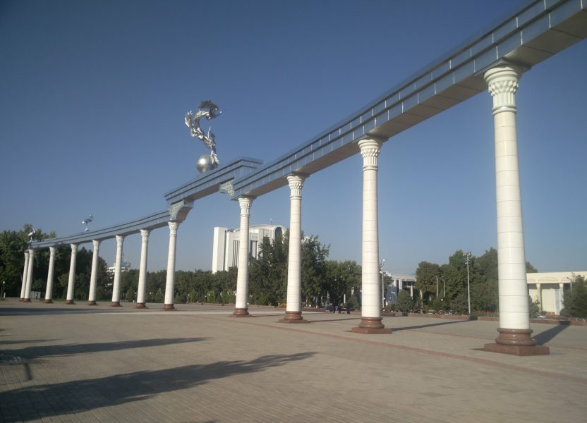 Tashkent, a new city in Uzbekistan