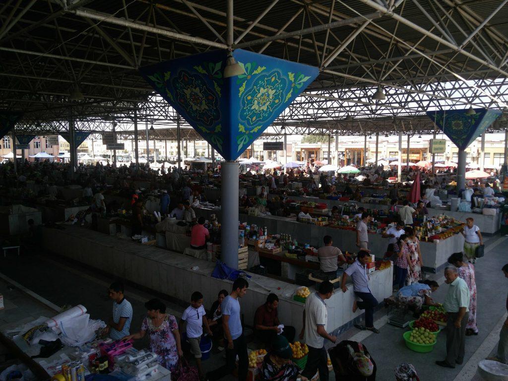 siyob bazaar samarkand