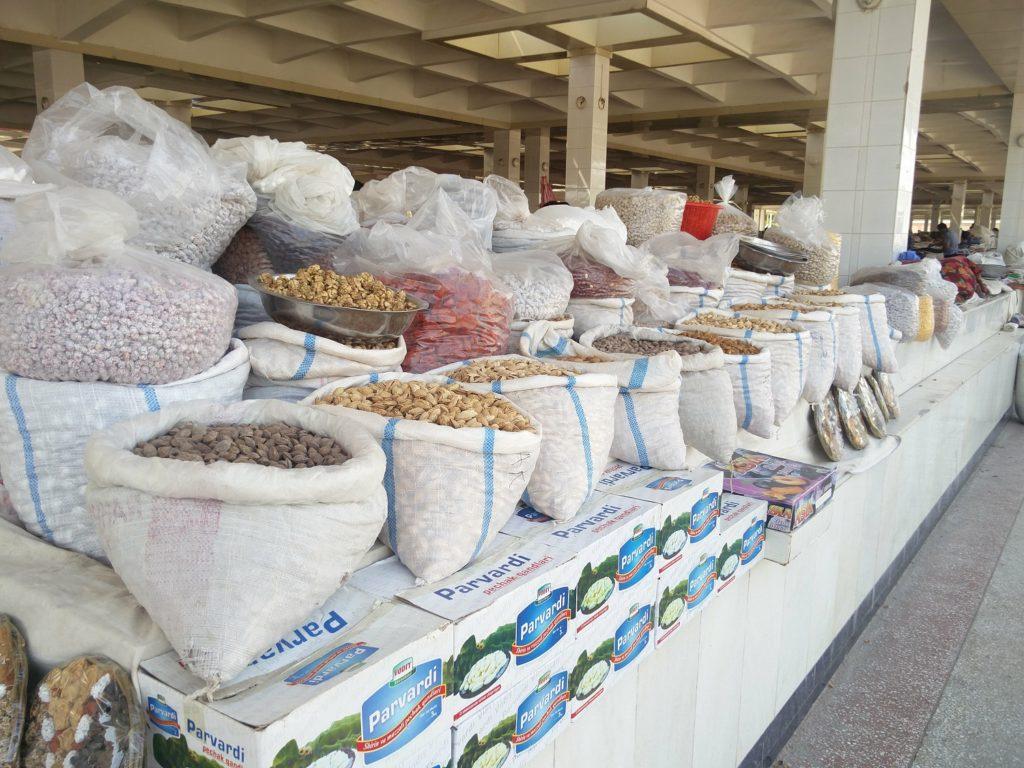 siyob bazaar samarkand central asia