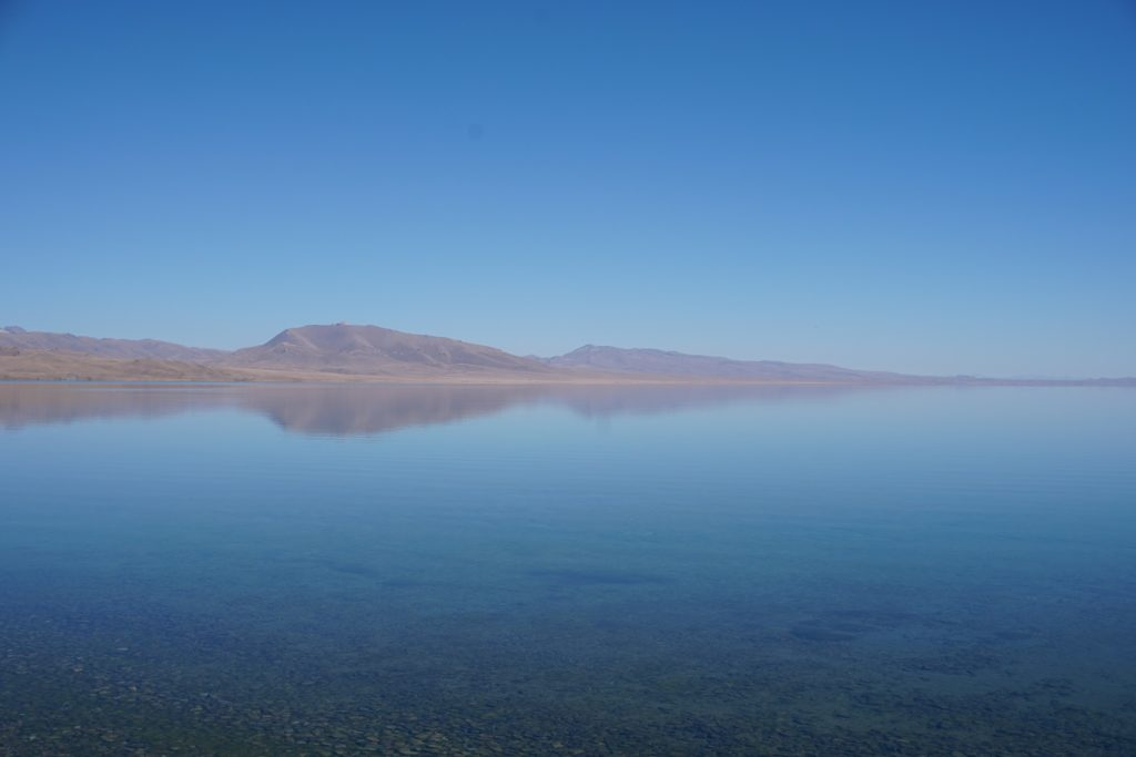 song kul lake central asia