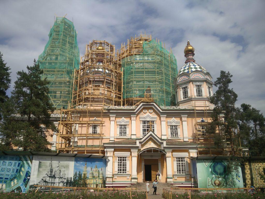 cathedrale zenkov almaty