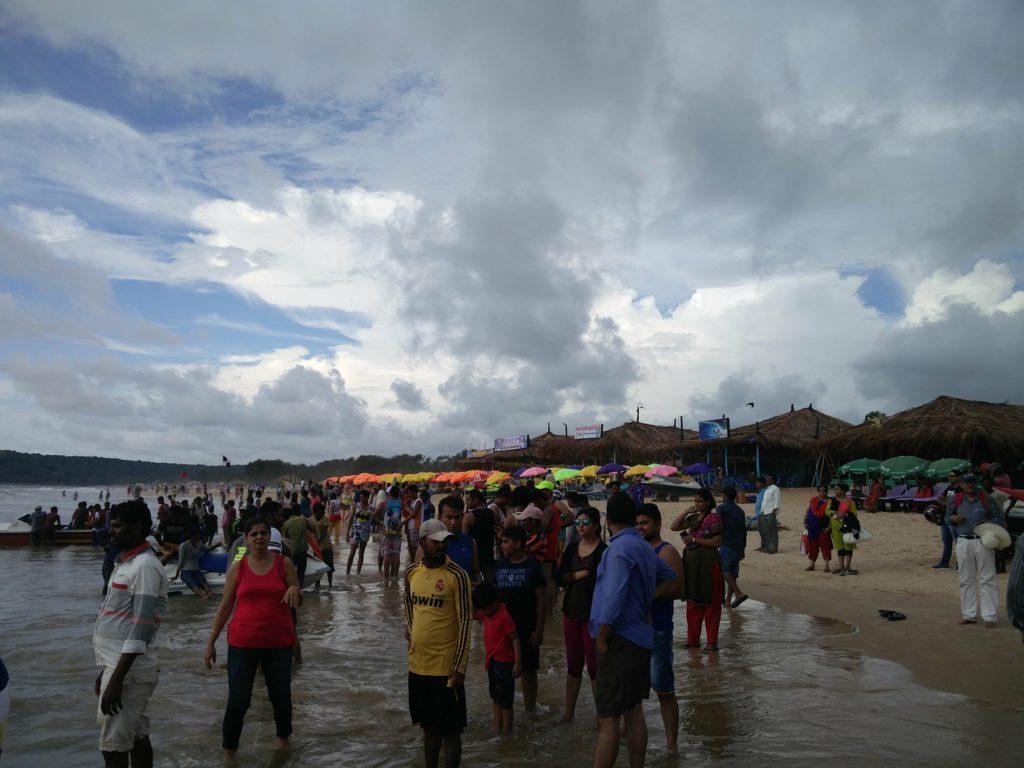 vagator beach india