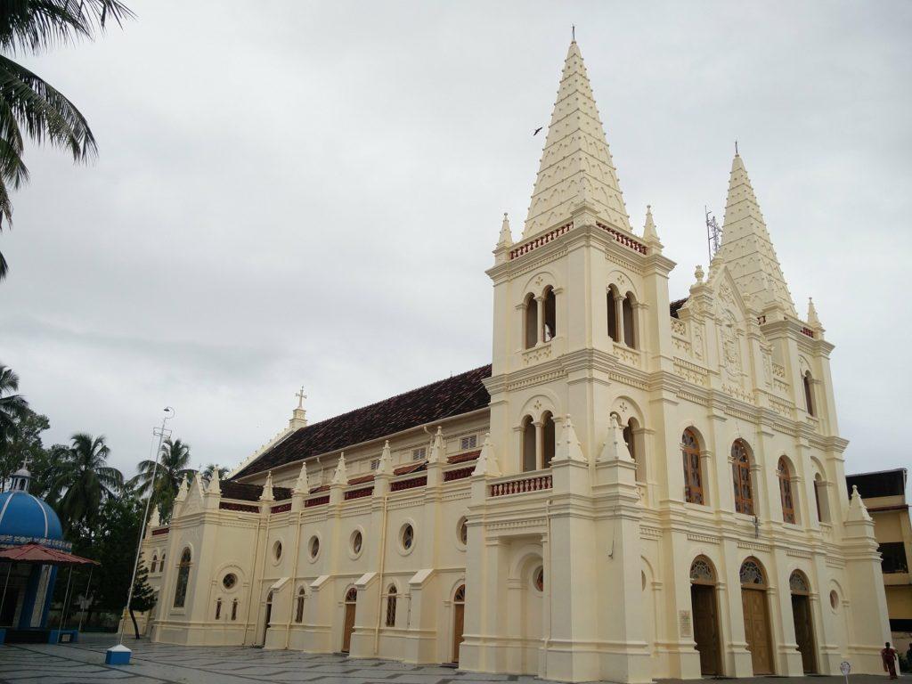 cathedrale sainte croix de cochin kerala