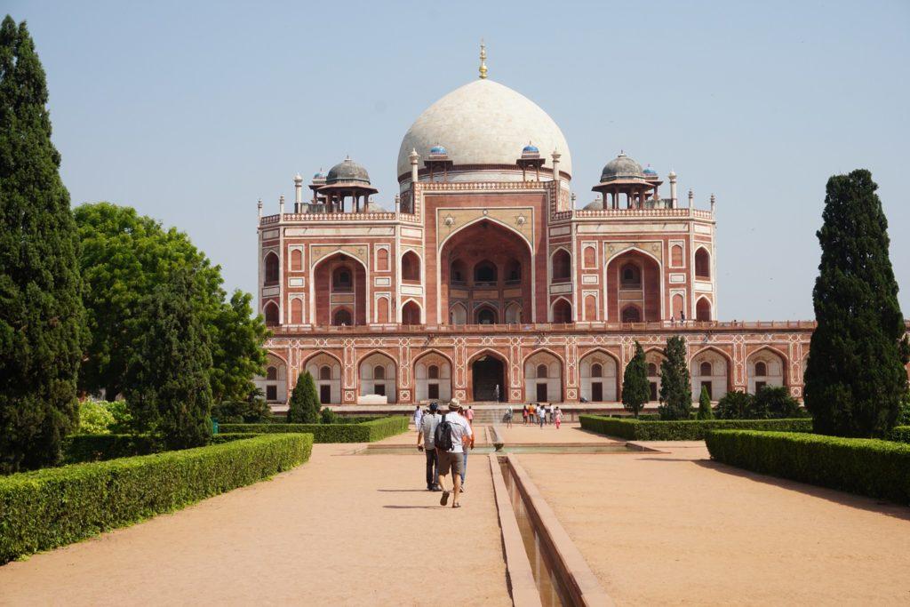 mausolee de humayun new delhi