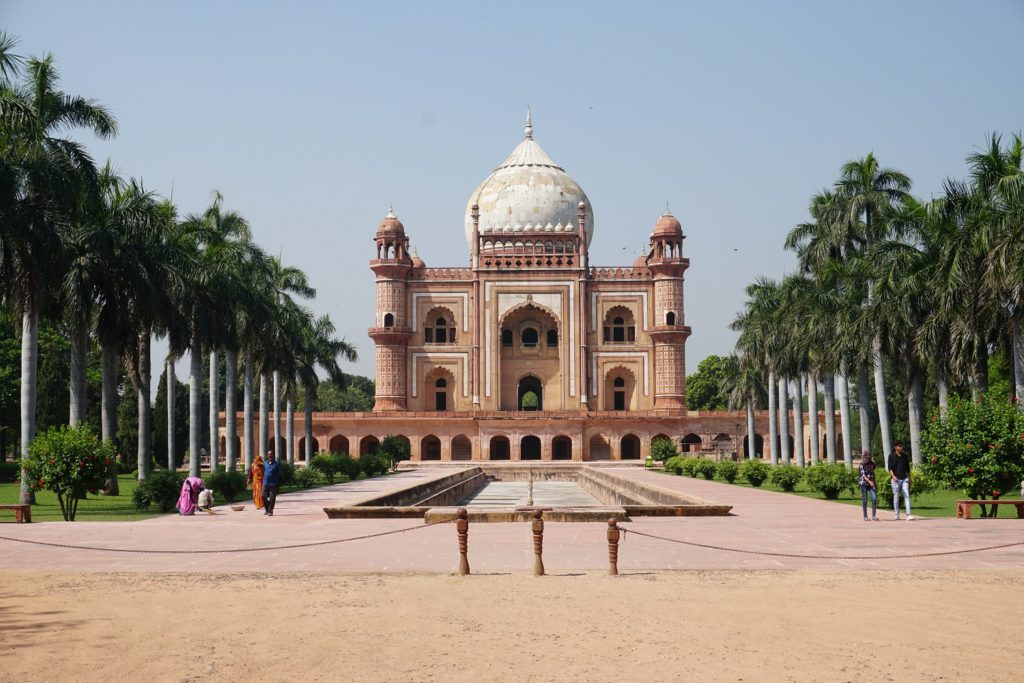 safdarjung's tomb new delhi traveling while black
