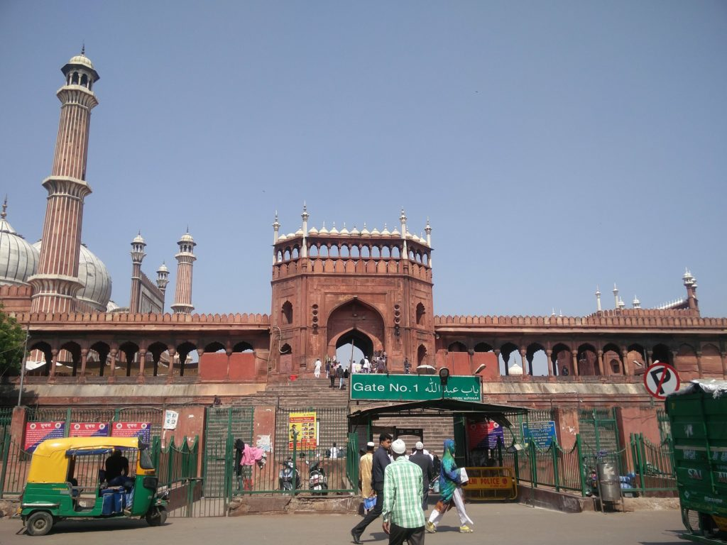 mosquee jama masjid new delhi