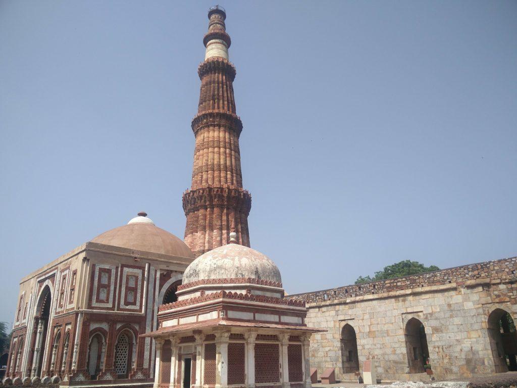 qutub minar new delhi