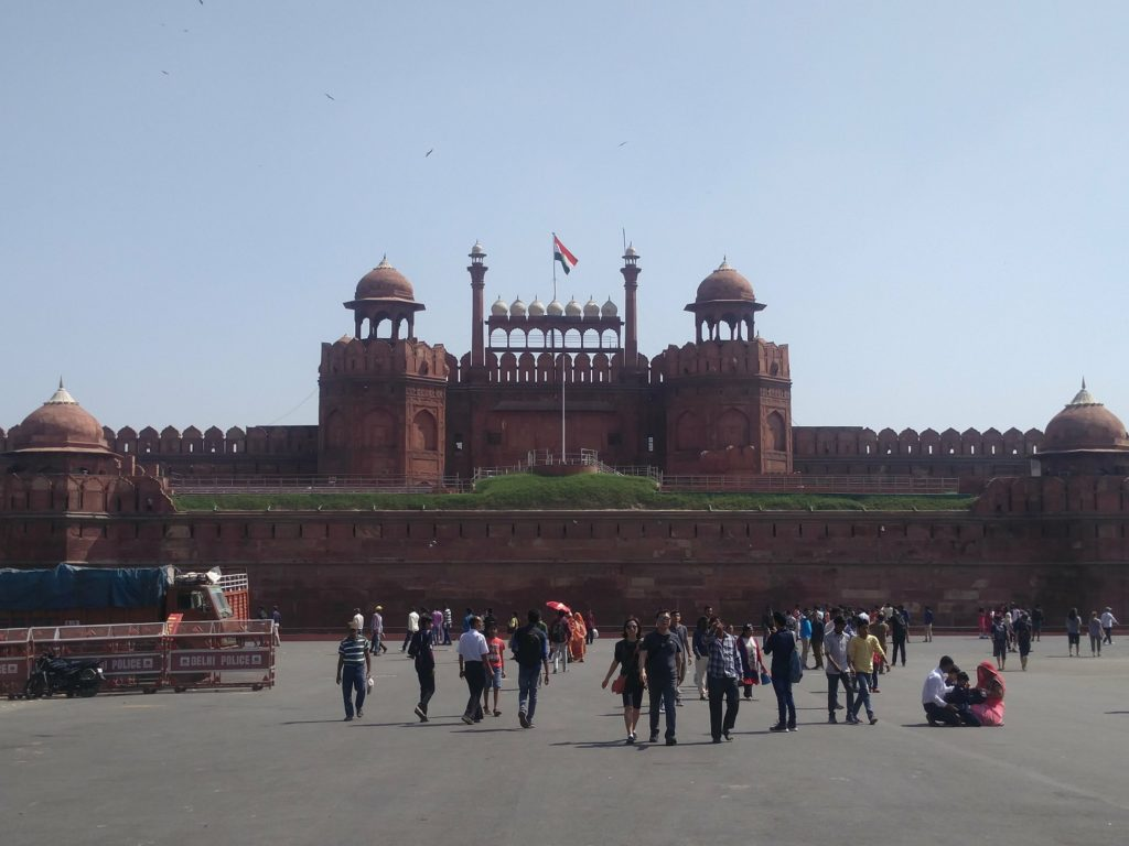 red fort new delhi
