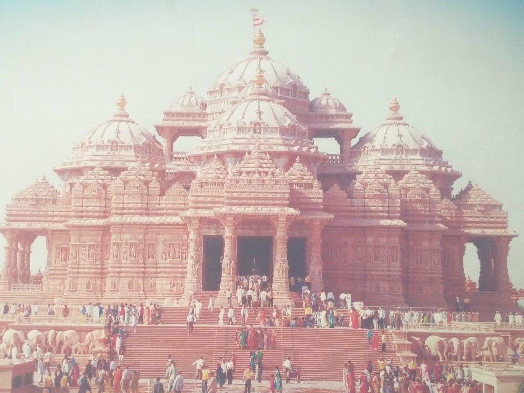 temple akshardham new delhi