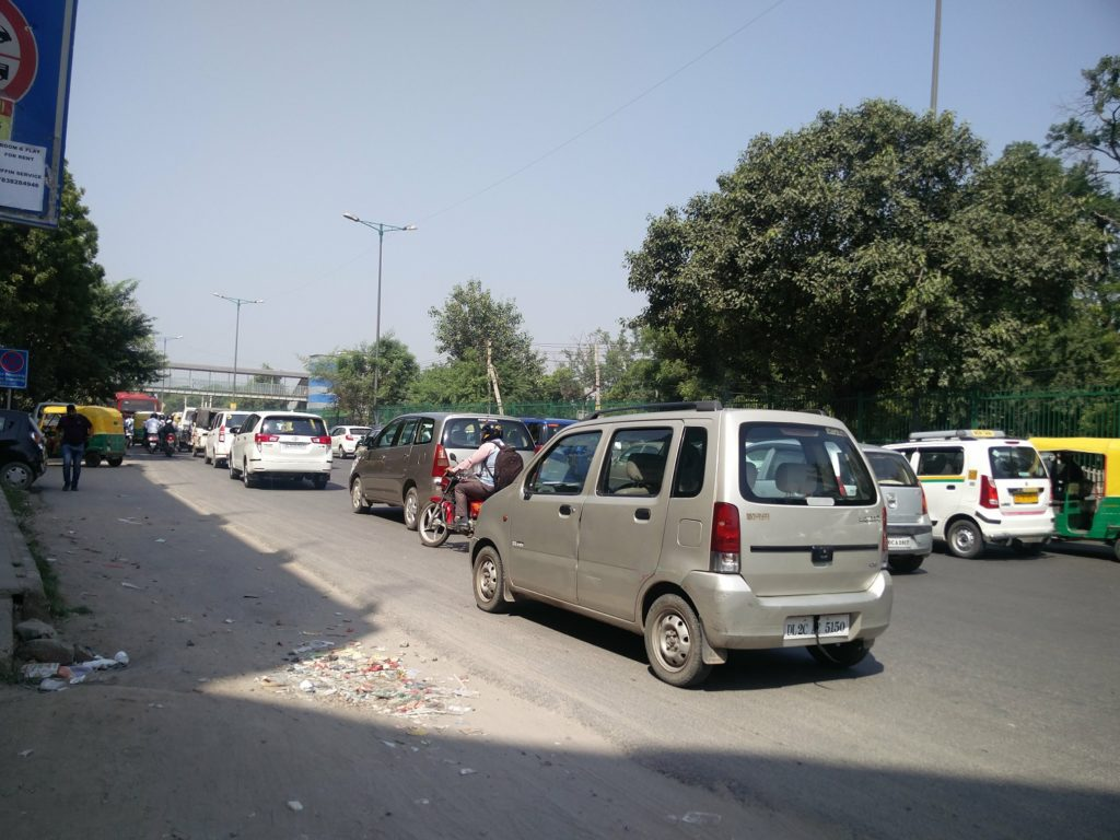 traffic new delhi