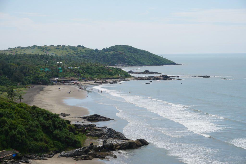 vagator beach