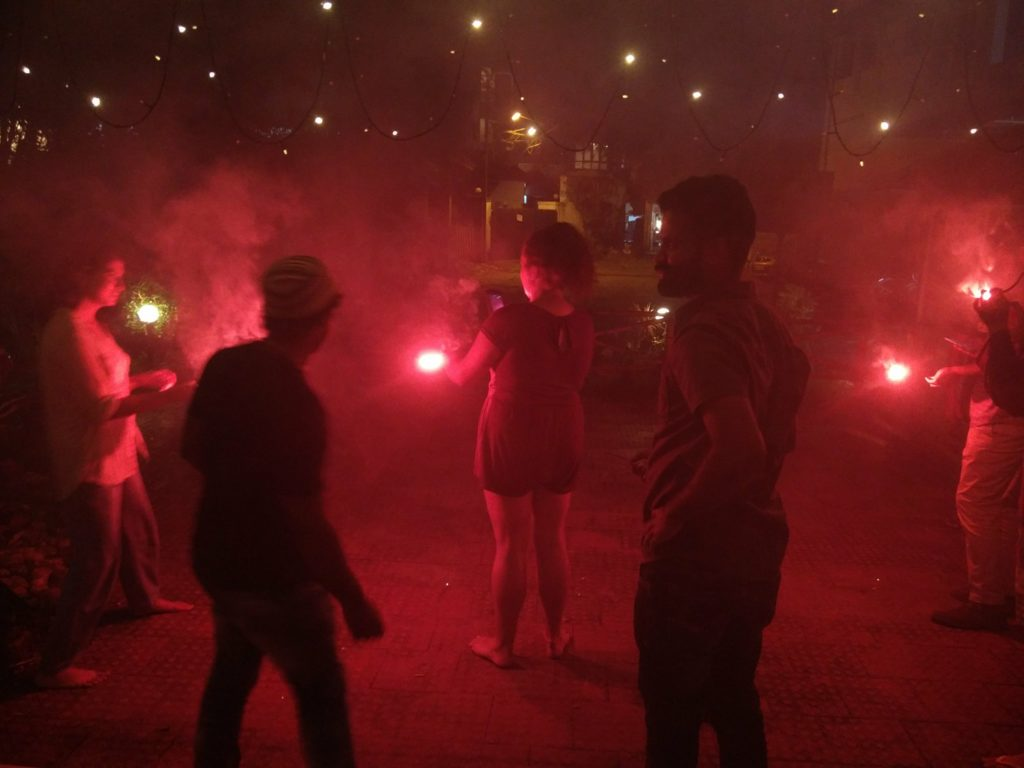 feu d'artifice kerala inde