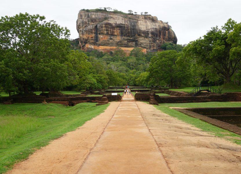 Ascension de Sigiriya, au Sri Lanka