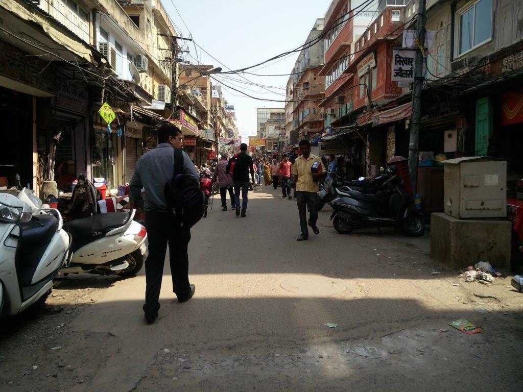 street jaipur india