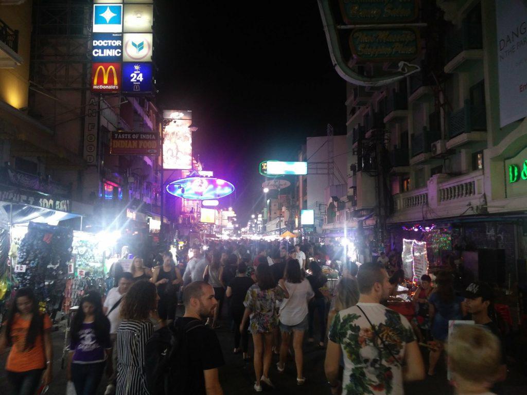bangkok arnaques voyage