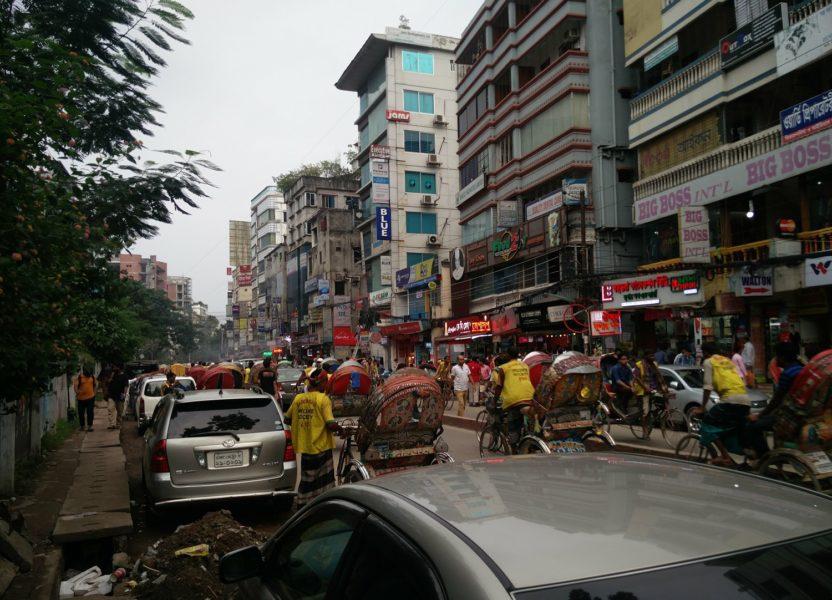 Dacca, capitale dense du Bangladesh