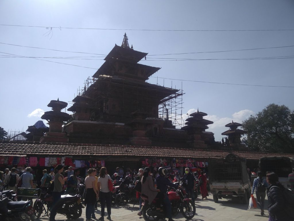 temple katmandou