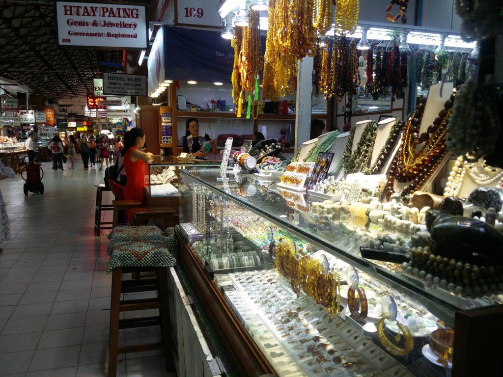 bogyoke aung sann market rangoon