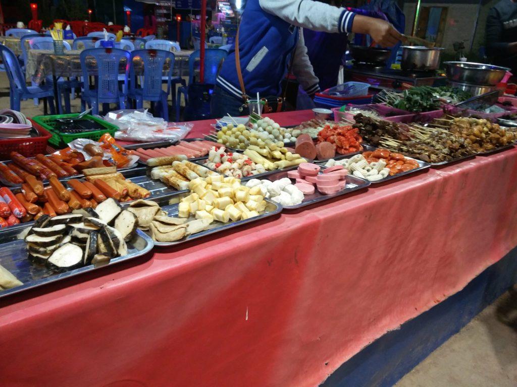 nyaung shwe market inle lake