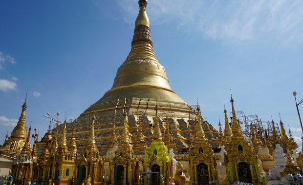 pagode shwedagon rangoon