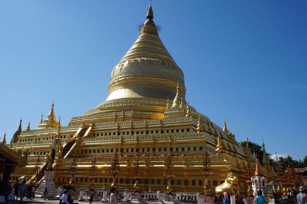 pagode shwezigon bagan
