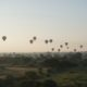 Bagan : temples, levers et couchers de soleil
