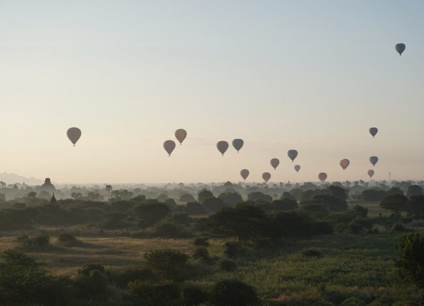 Bagan : temples, sunrises and sunsets