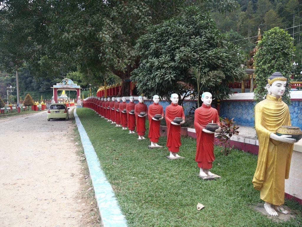 Kawt Ka Taung temple hpa an