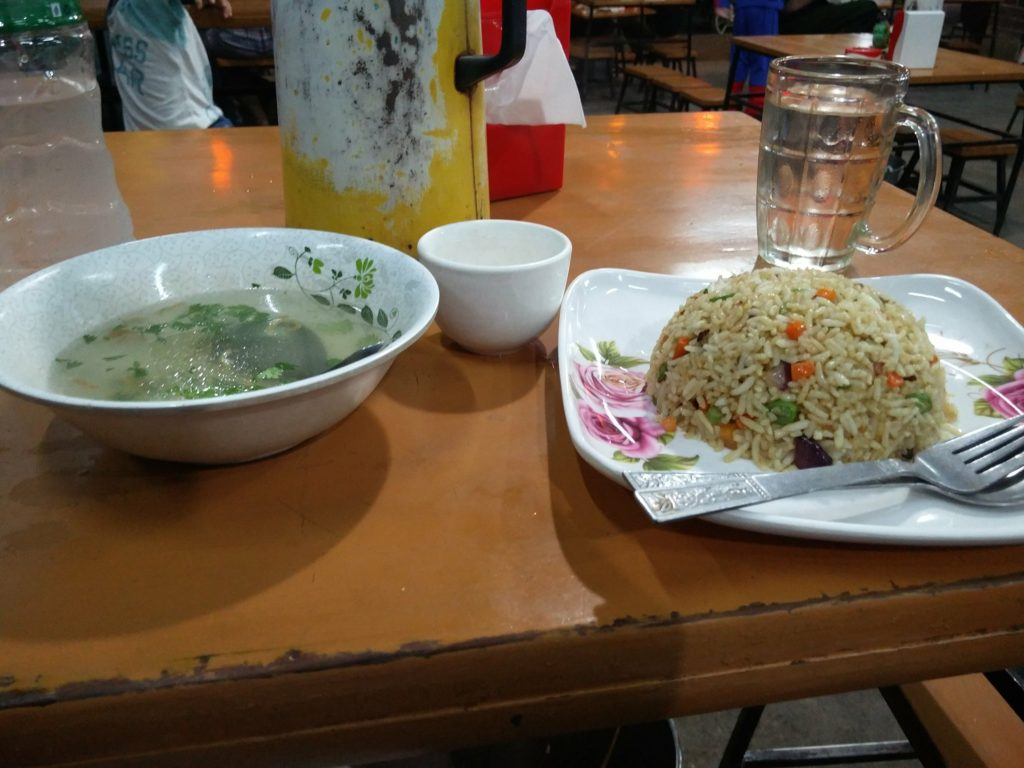fried rice birmanie