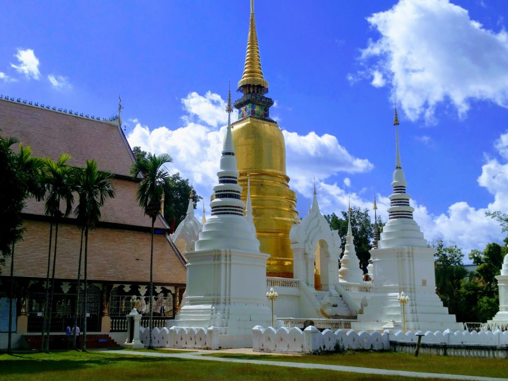 stupa chiang mai