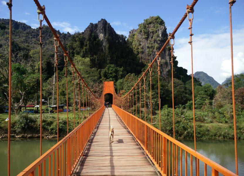 Vang Vieng : tubing, lagoon et grosses fêtes