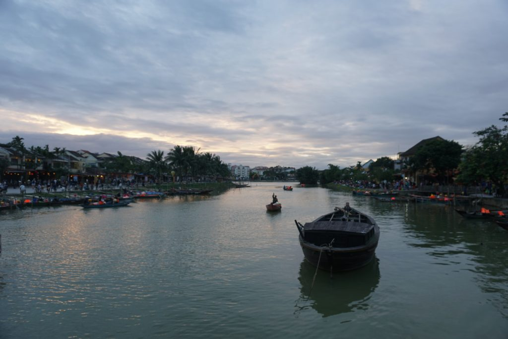 riviere thu bon hoi an