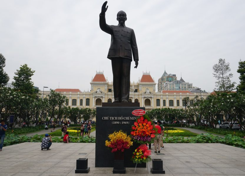 Ho Chi Minh City, the economic capital of Vietnam