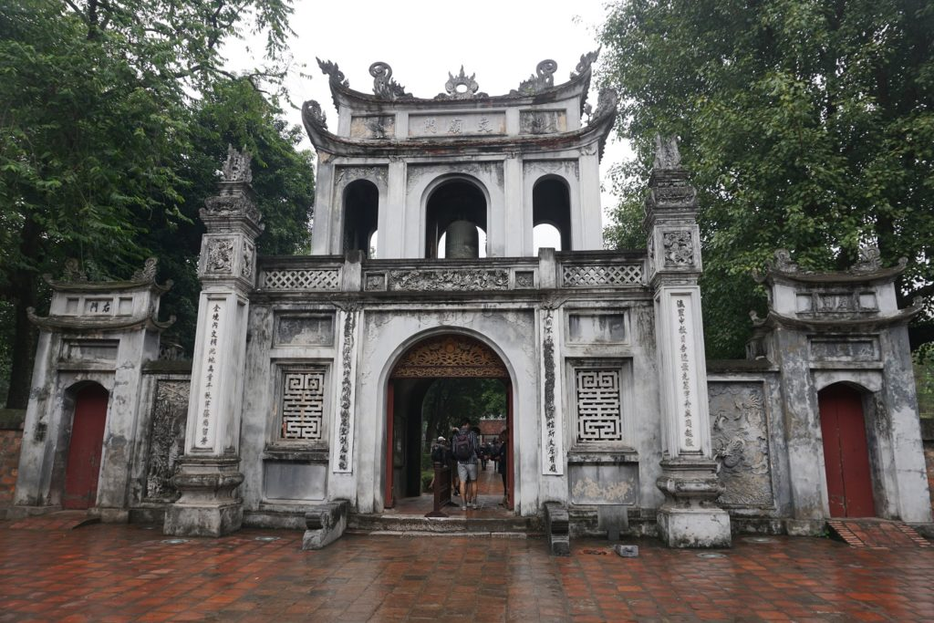 temple de la litterature de hanoi
