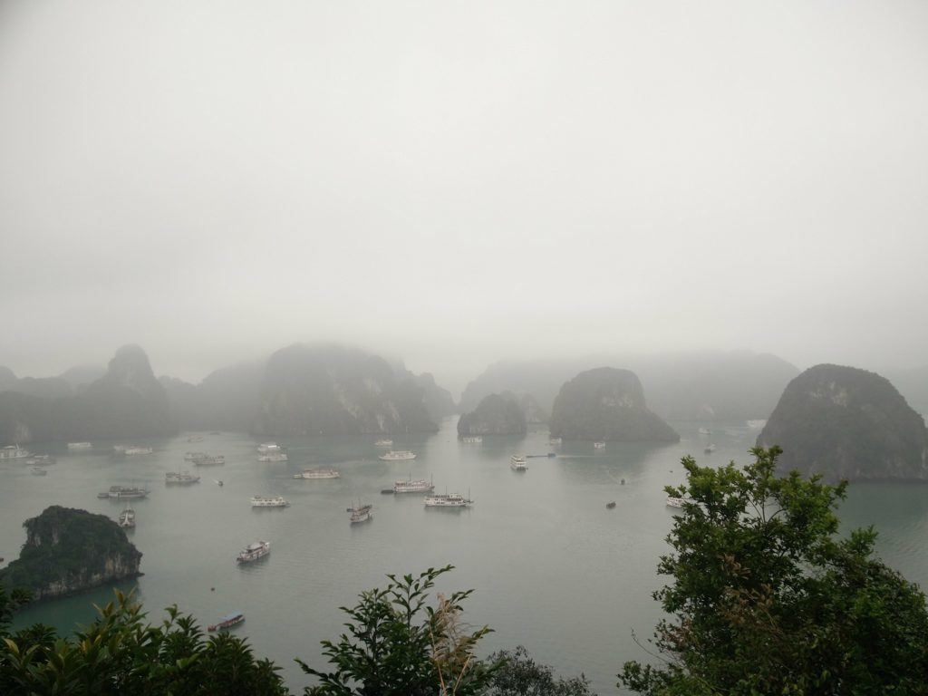 titop island viewpoint halong bay