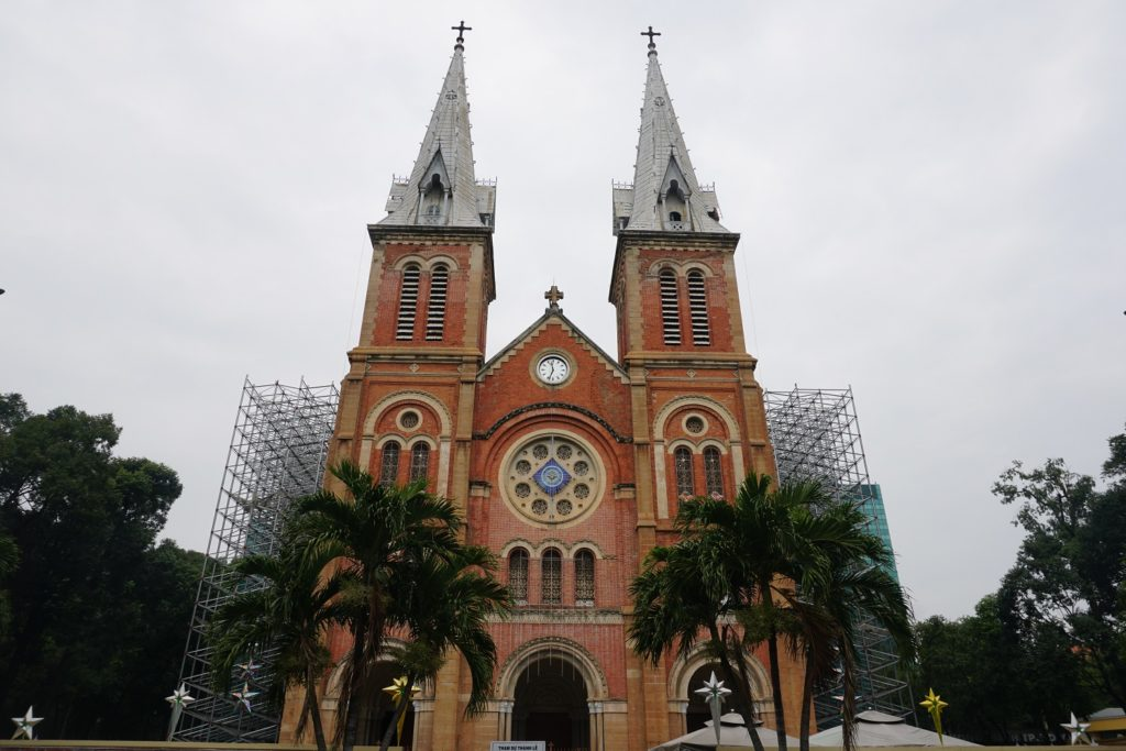 Notre-Dame Cathedral Basilica of Saigon ho chi minh city