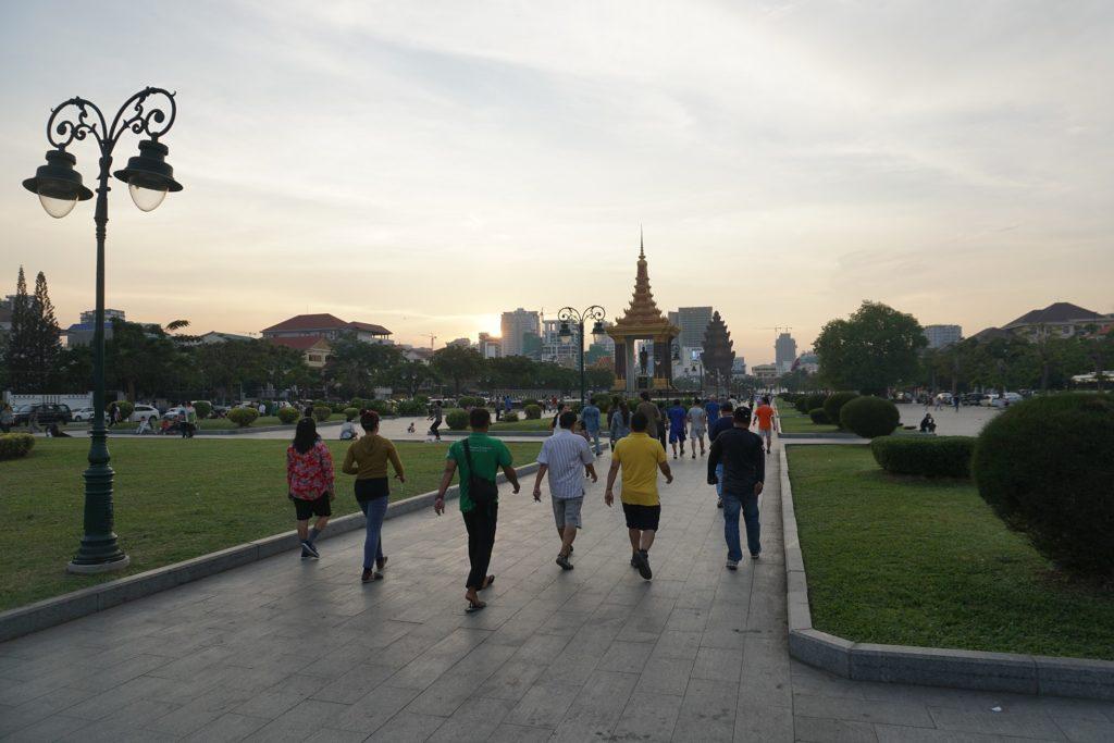 jogging phnom penh