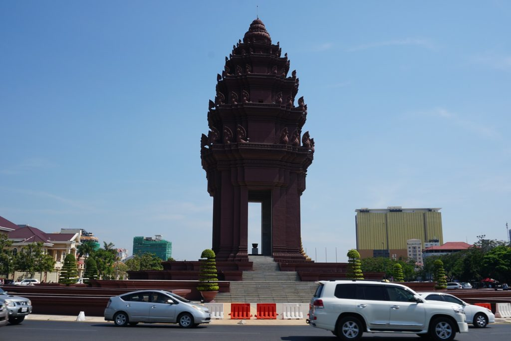 monument de l'independance phnom penh
