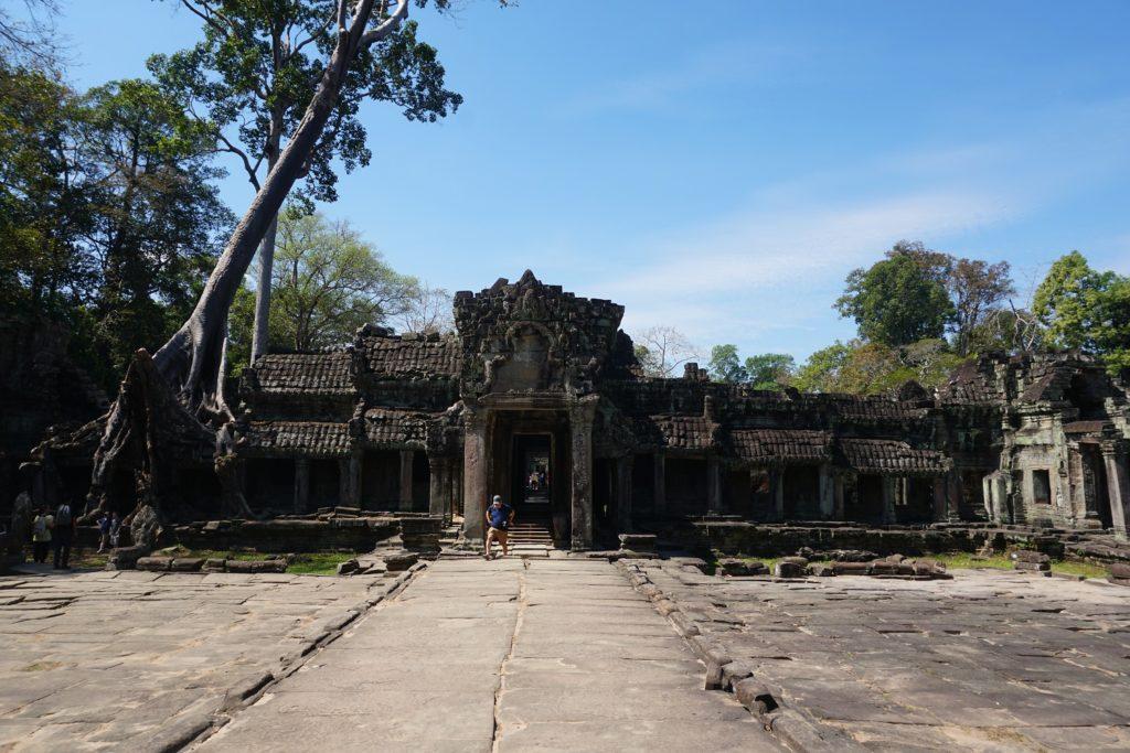 preah kahn temples d'angkor