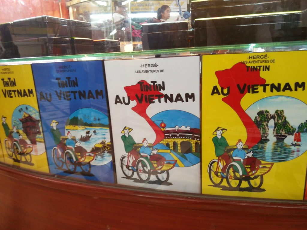 tintin in vietnam ho chi minh city