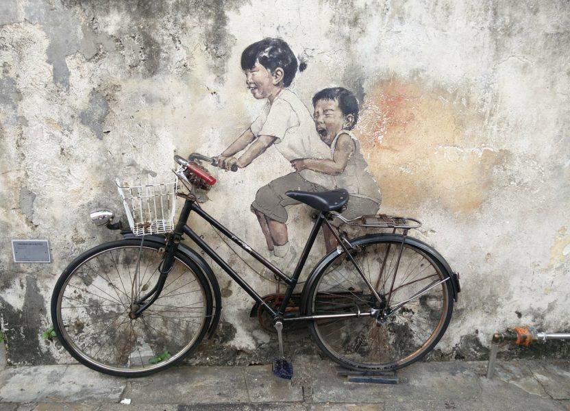 Georgetown à Penang : street art et street food