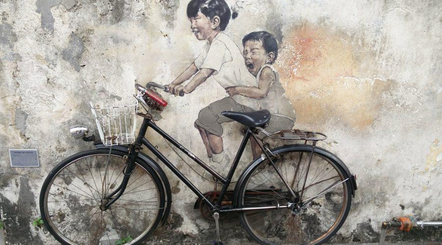 George Town in Penang : street art and street food
