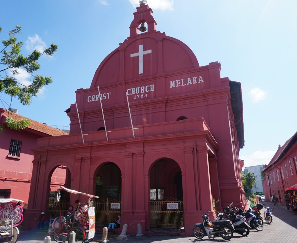 christ church malacca