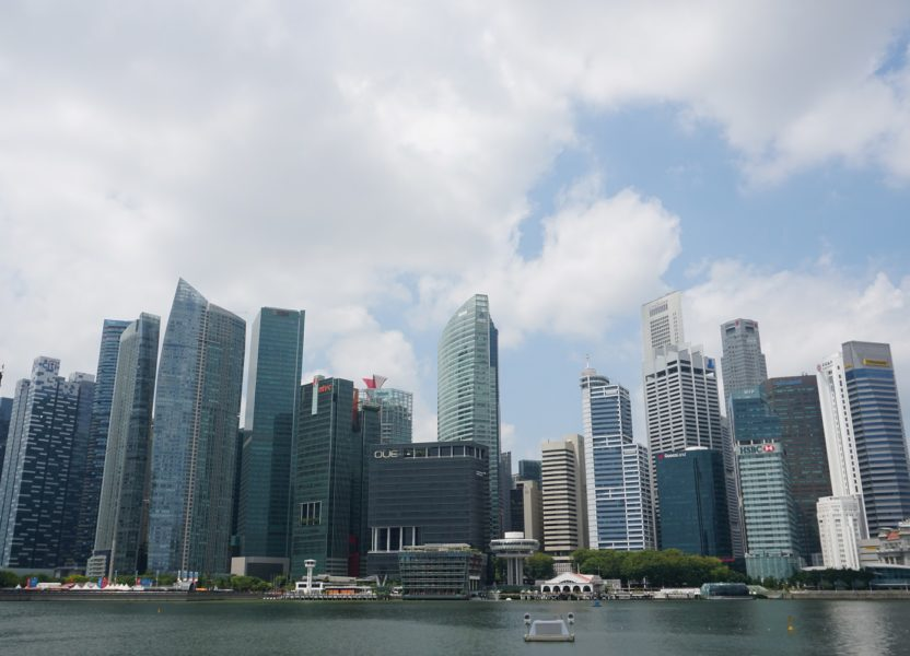 Singapore, the city-state in Southeast Asia