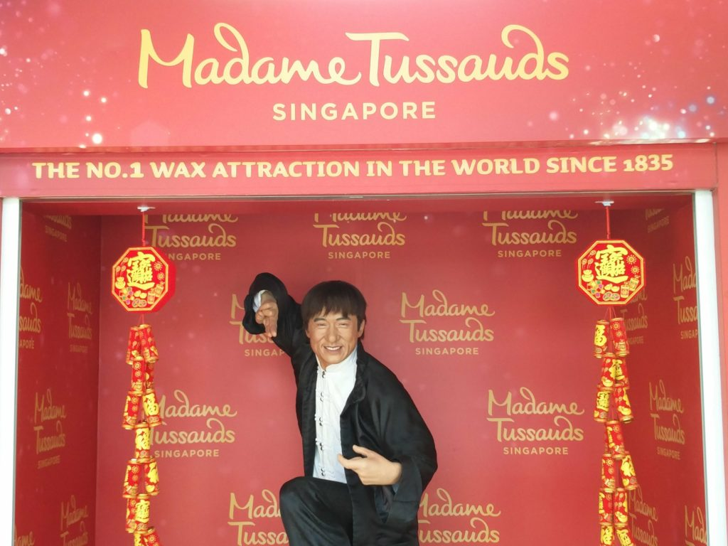 madame tussauds racism in singapore